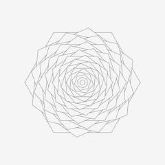 Bloom (shonk) Tags: abstract illustration design geometry math hexagon mathematica geometricart geometricdesign