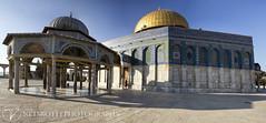 Temple Mount Panorama sm80 (Netsrotj | Photography) Tags: panorama israel peace palestine jerusalem templemount alaqsa alharamalsharif