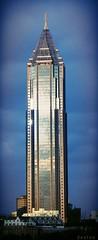 Atlanta Architecture (swampzoid) Tags: blue atlanta sky building skyscraper bank bankofamerica tall narrow atlantageorgia
