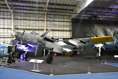 Messerschmitt Bf 110 (Bri_J) Tags: uk london museum nikon fighter wwii raf airmuseum messerschmitt luftwaffe hendon aviationmuseum rafmuseum bf110 messerschmittbf110 d7200