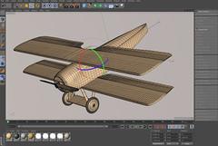 SPADXIII-WIP 15 (StratoArt) Tags: history 3d aircraft aviation military wwi cinema4d warbird biplane warplane spad xiii