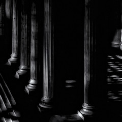 fading light (fifich@t - off -:() Tags: paris panthéon colonnes darkness mysterious nikond300 fificht lowkey columns availablelight squarepicture greyscale ©frs negativespace genesis philcollins easterday2016 swansong symbolic fadinglights absoluteblackandwhite
