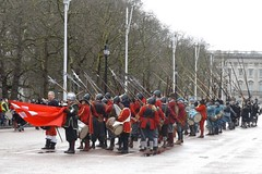 king,s army annual whitehall parade 31 01 2016 (philipbisset275) Tags: unitedkingdom centrallondon englandgreatbritain kingsarmy englishcivilwarsociety kingcharlesl 31012016 themallcityofwestminster commemrationoftheexecution