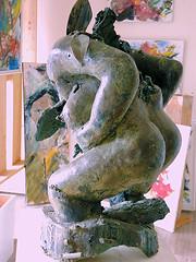 la femme dchire (aventuriero@ymail.com) Tags: sculpture art bronze femme galleries dechire aventuriero