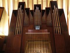 Organ in the cathedral Notre-Dame de Crteil (Sokleine) Tags: new france catholic cathedral interior religion crteil indoor cathdrale organ iledefrance orgue valdemarne culte 94000 alentoursdeparis notredamedecrteil