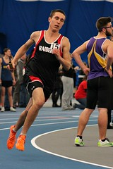 4x800m RELAY (MIKECNY) Tags: race highschool relay baton indoortrack mechanicville