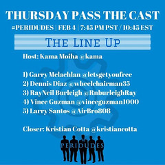 Jumping on a live #peridude #passthecast tonight. Join us at... (garry21) Tags: us jumping live join tonight at peridude passthecast