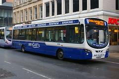McGILL'S I6001 YJ09CVH (bobbyblack51) Tags: 2001 west scotland glasgow branded route wright pulsar mcgills arriva 2016 vdl sb200 yj09cvh i6001