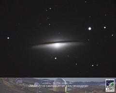 Sombrero Galaxy (Earth & Sky NZ) Tags: newzealand observatory mackenzie galaxy astrophotography nz astronomy sombrero ida deepspace tekapo stargazing aoraki 2016 mtjohn earthandsky sombrerogalaxy mtjohnobservatory mackenziebasin 6february yanagimachi february6th internationaldarkskyassociation mtjohnuniversityobservatory darkskyreserve starlightreserve aorakimackenzieinternationaldarkskyreserve