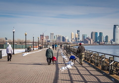 liberty state park mickey and aggie (Visual Thinking (by Terry McKenna)) Tags: park liberty state nj