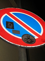 robocop... (tonitonim) Tags: sardegna street art sardinia arte stick robocop sardaigne divieto adesivi nuoro sardigna tonim tonitonim