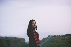 (C.Macbeth) Tags: portrait naturaleza nature girl digital rural hearts model chica perfil retrato girly grunge stickers style modelo indie pegatinas femenino corazones femenine
