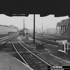 Leicester Railway Station October 1977 (RailWA) Tags: station october leicester railway 1977 railwa philmelling