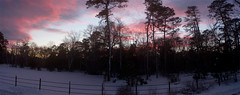 Sunset day after blizzard of 2016 (hoganphoto) Tags: sunset panorama snow blizzard 2016