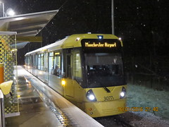 Manchester Metrolink 3077 at Sale Water Park (Barrytaxi) Tags:
