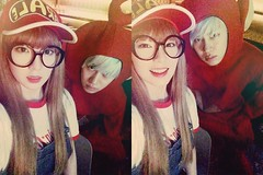 kimheenim - Irene with Super Junior Heechul (redvelvetgallery) Tags: halloween irene redvelvet kpop selca heechul superjunior smtown  ireneselca
