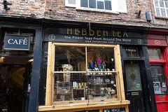 Tea Shop Window (gabi-h) Tags: york uk england brick window architecture reflections wednesday britain teashop gabih hww