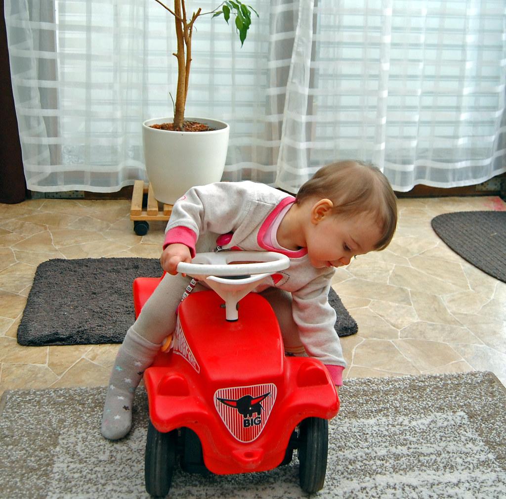 Kinderfahrzeuge Bobby-car,rot