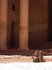 Dudes at the Treasury (AJoStone) Tags: petra jordan