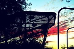 SnakeInTheGrass (Topher0806) Tags: bridge arizona silhouette clouds nikon sundown tucson snake perspective rattlesnake lightshadow cloudporn d5100