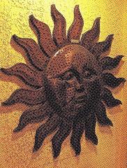 Sun Sculpture (ikan1711) Tags: sculpture sun art plaque sunburst sunsculpture artobjects allart westvancouverbc allsculptures