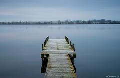 Belgium,Mechelen, old jetty (crispin52) Tags: longexposure blue nikon meer mechelen steiger ochtendlicht langesluitertijd