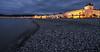 Midnight, Llandudno, Wales (jaros 2(Ron)) Tags: sea water wales rocks midnight llandudno lightroom tokina111628 nikond300s
