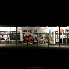 'Summer In Australia' - February, 2016 (aus.photo) Tags: lighting summer signs building shop retail night dark closed australia shoppingcentre supermarket signage shops canberra welcome act lyons cbr localshops australiancapitalterritory localshop ausphoto