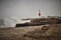 Stormy seas (natalielaura12) Tags: uk sea lighthouse storm portland coast bill waves dorset
