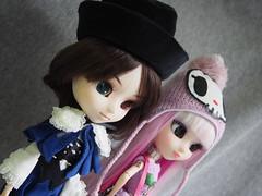 Lunarosa & Souseiseki (sh0pi) Tags: march doll january groove pullip 16 rozen maiden mrz januar puppe 2014 tokidoki 2015 p121 lunarosa jnner p146 souseiseki 20140131 20150323