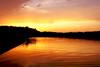 Sunset over the lake (marta.bolinowska) Tags: travel lake colour weather photography view place beautifullight panoramas atmosphere poland polska sunny places fotografia worldweather beautifulcolours sonyalpha bestlandscapes