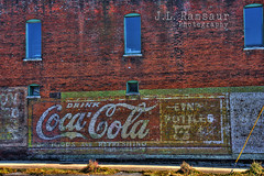 Drink Coca-Cola Ghost Sign (J.L. Ramsaur Photography) Tags: abandoned sign photography photo nikon tennessee neglected coke pic faded photograph signage cokebottle cocacola thesouth hdr fayetteville oldsign fadedsignage abandonedbuilding ghostsign fadedsign vintagesign oldsignage 2016 signssigns vintagesignage photomatix signcity lincolncounty retrosign drinkcocacola bracketed middletennessee cocacolabottle deliciousandrefreshing hdrphotomatix hdrimaging fayettevilletn fayettevilletennessee retrosignage ibeauty iloveoldsigns hdraddicted abandonedsign tennesseephotographer southernphotography screamofthephotographer hdrvillage cocacolabottlingworks jlrphotography photographyforgod worldhdr tennesseehdr fadedghostsign iseeasign itsasign d7200 hdrrighthererightnow cocacolascript engineerswithcameras hdrworlds jlramsaurphotography nikond7200 drinkcocacolaghostsign