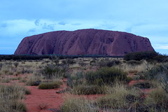 Uluru - Ayres Rock (MaryD NZ) Tags: rock desert central australia uluru northern ayres territory