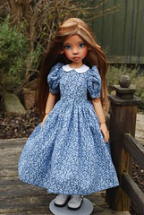 New dress (Little little mouse) Tags: bjd dollfie tansy homemadedress kayewiggs marthaboers tanlaryssa