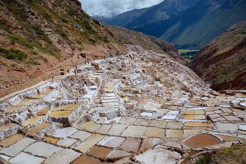 Salt ponds of Maras near Urubamba Peru-09 5-26-15