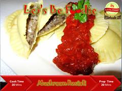 Italian_Mushroom_Ravioli (letsbefoodiee) Tags: cooking breakfast dinner recipe lunch indian puff desserts brunch sweets snacks recipes teatime momos khana maincourse mithai nashta eveneingsnacks