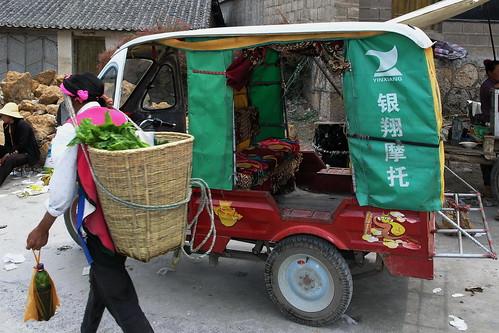 China - Yunnan - Dali - Auto Rickshaw - 51