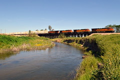 BNSF Q-RICALT6-01A (caltrain927) Tags: california santa ca burlington train dc railway grand double stack container dash le fe northern ge bnsf loaded intermodal autoracks es44dc gevo c449w 944cw stackrack