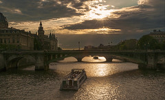 El Sena (alopezca37) Tags: bridge sunset sun paris france sol puente pont franca