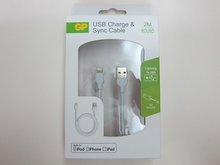 GP Charge & Sync Lightning USB Cable