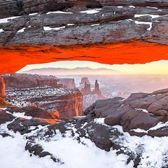 Mesa arch-115 (Jinie Ahn Photography) Tags: sunrise utah mesaarch canyonlandnationalpark