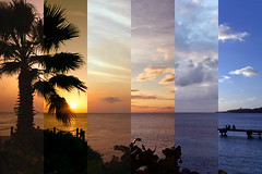 6 Consecutive Sunsets over Curaao (Jon Wojan) Tags: sunset sea sky cloud beach water outdoors coast march seaside dusk atmosphere shore cielo curacao curaao antilles aradecer