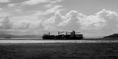 _MG_6848.jpg (felipehuelvaphoto) Tags: sea blackandwhite bw espaa byn blancoynegro water clouds mar spain agua barco noiretblanc andalucia morocco maroc nubes cadiz gibraltar marruecos estrecho 2016 straitofgibraltar estrechodegibraltar