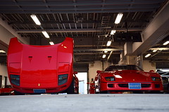 Ferrari F40 (Andr.32) Tags: italy cars car japan photography super ferrari exotic turbo supercar v8 speciale supercars f40 pininfarina fsw sportcar sportcars worldpremiere fujispeedway ferrarif40  bingosports