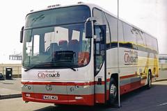 Plymouth Citybus - WA03 MGE (peco59) Tags: volvo psv pcv paragon plaxton plymouthcitybus plymouthcitycoach b12m wa03mge ukcoachrally