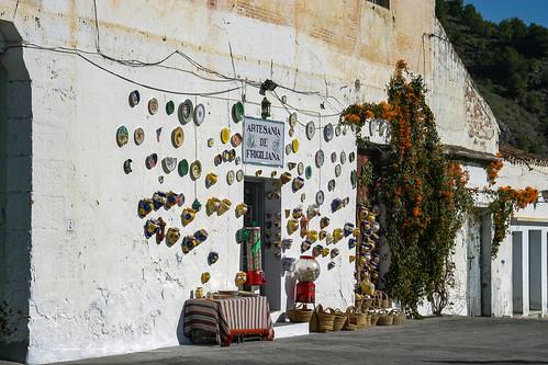 Frigiliana, Malaga, Andalucia