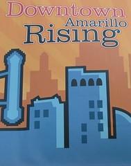 Amarillo Rising (jHc__johart) Tags: sign downtown texas banner amarillotexas
