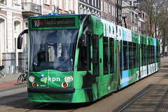 Lijn 10 -> Westergasfabriek (AMSfreak17) Tags: world light holland public netherlands dutch amsterdam canon advertising de traffic reclame transport nederland siemens tram rail railway transportation danny service kpn 13g trams strassenbahn sarphatistraat gvb ov the amsterdamse combino vervoer openbaar 70d 14g 2091 gemeentelijk of vervoerbedrijf soet stadsvervoer amsfreak17 commercialtram