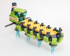 Moon Cheese Barge (Galaktek) Tags: lego space scifi minifig galaktek