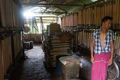 Rubber factory at Bilugyun, Mawlamyine (Michael Chow (HK)) Tags: myanmar bilugyun myanmarburma monstate mawlamyine ywalut